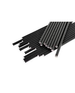 Caña Cartón Color negro 150mm