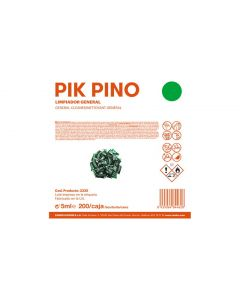 Limpiador General Monodosis Pik Pino 5ml ZH Caps Solution