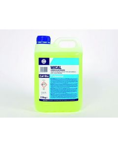 Detergente Maquina Lavavajillas Aguas Duras WICAL Garrafa 24Kg