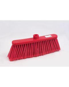 Cepillo Rojo Escoba Plus 6 Filas de Cerdas
