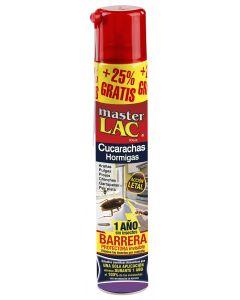 Insecticida Rastreros Cucarachas en Laca MASTERLAC Spray